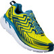 Hoka One One Clifton 4 Heren geel/blauw